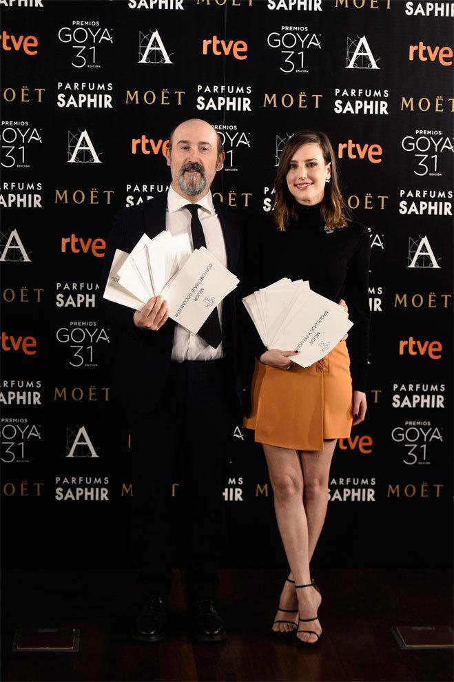 Javier Cámara y Natalia de Molina han sido los encargados de anunciar...