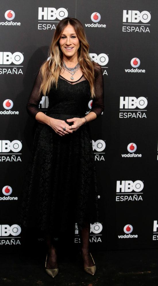 Sarah Jessica Parker ayer en la fiesta de HBO