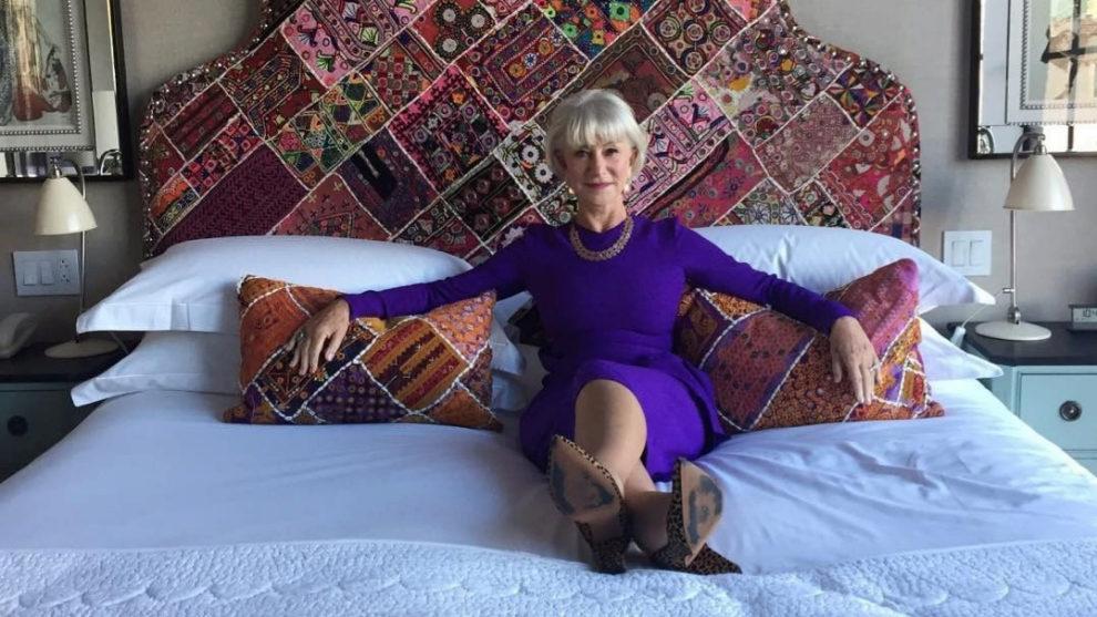 Esta es una de las instantáneas con las que Helen Mirren nos...