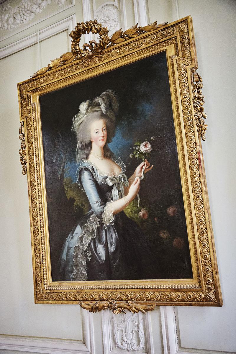 Retrato de Élisabeth Vigée-Lebrun, de 1783.