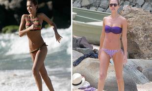 Jessica Alba presume de piernas a sus 35 años. En las fotos, la...
