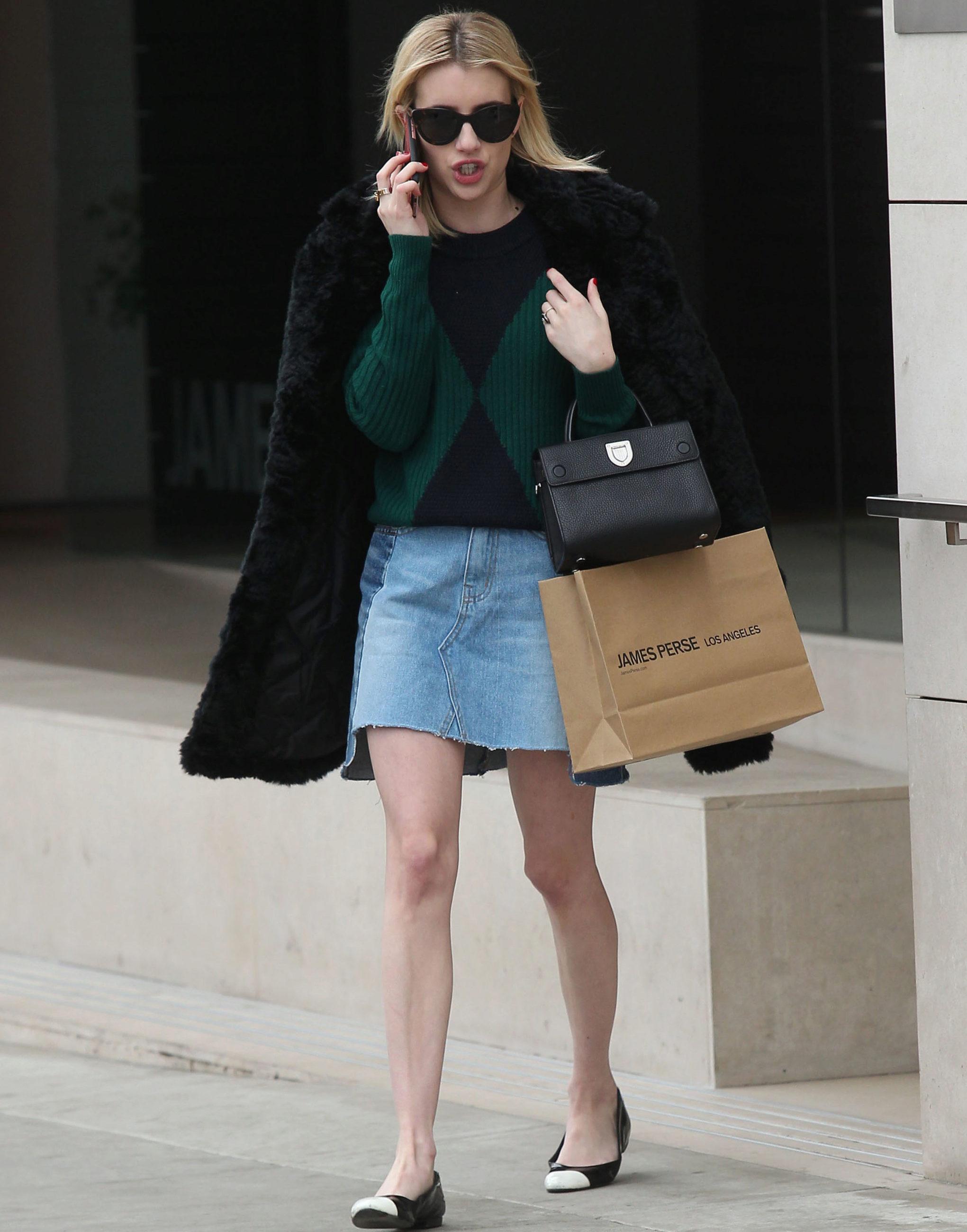 Emma Roberts inspira hoy nuestro <em>look</em> del día con su...