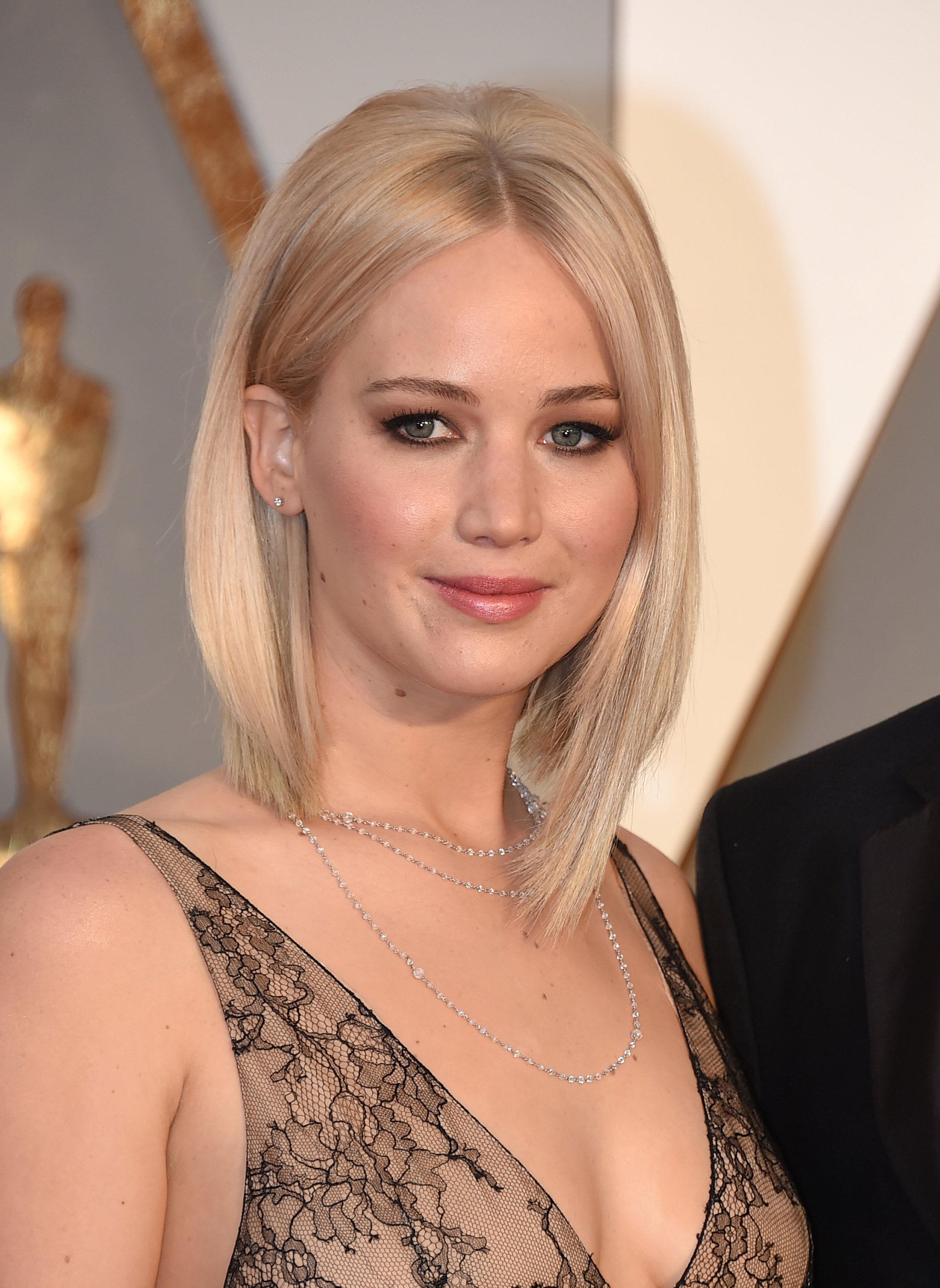 Jennifer Lawrence en los Oscar 2016.