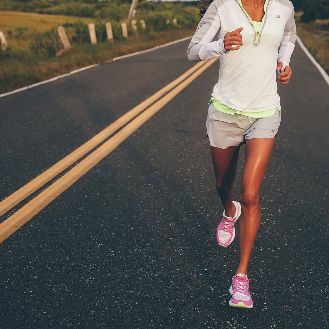 Entrenamiento fitness año nuevo. Running