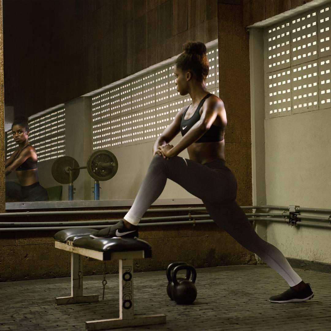 Entrenamiento fitness año nuevo