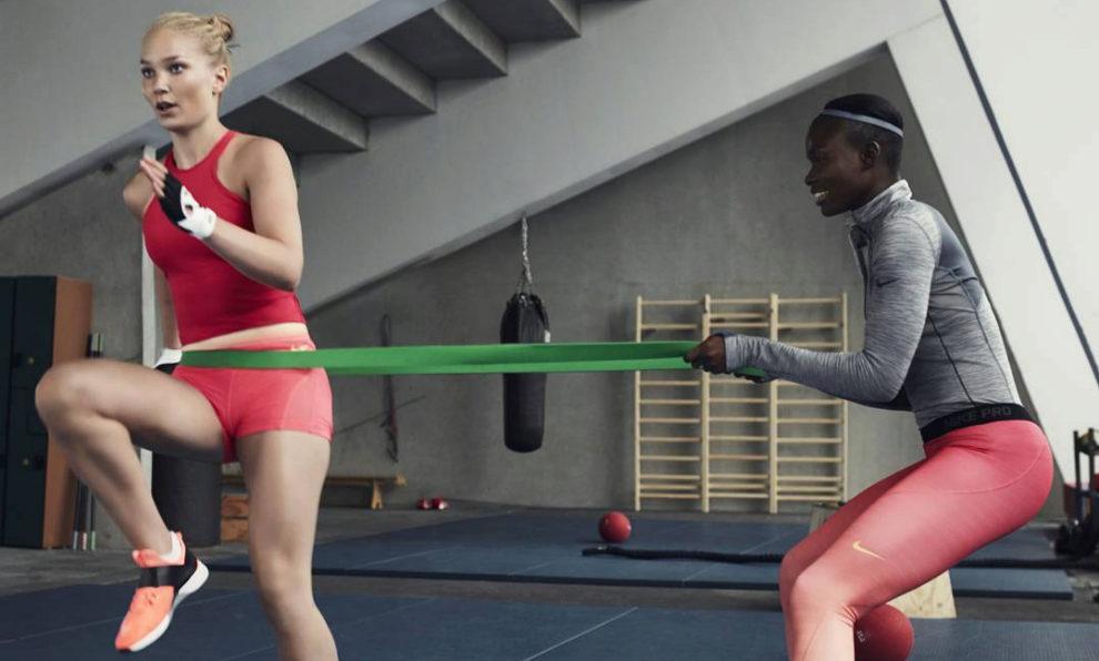 Entrenamiento fitness año nuevo Nike
