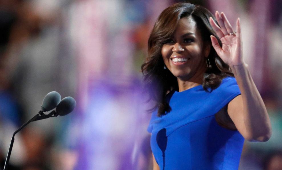 Michelle Obama plantó cara a Donald Trump