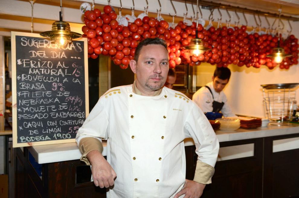 Su nuevo restaurante, Enigma, abrirá sus puertas el día 3 de enero...