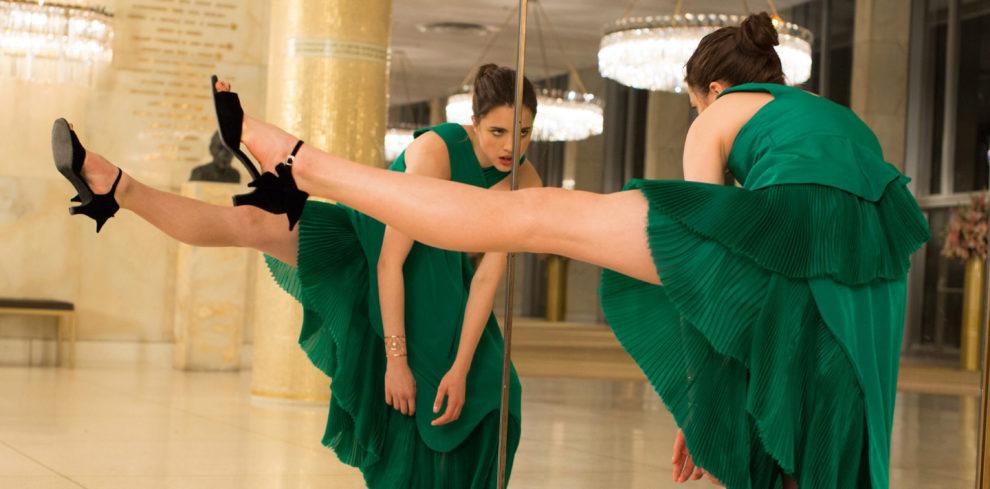La guapísima actriz y bailarina revolucionó las redes sociales este...