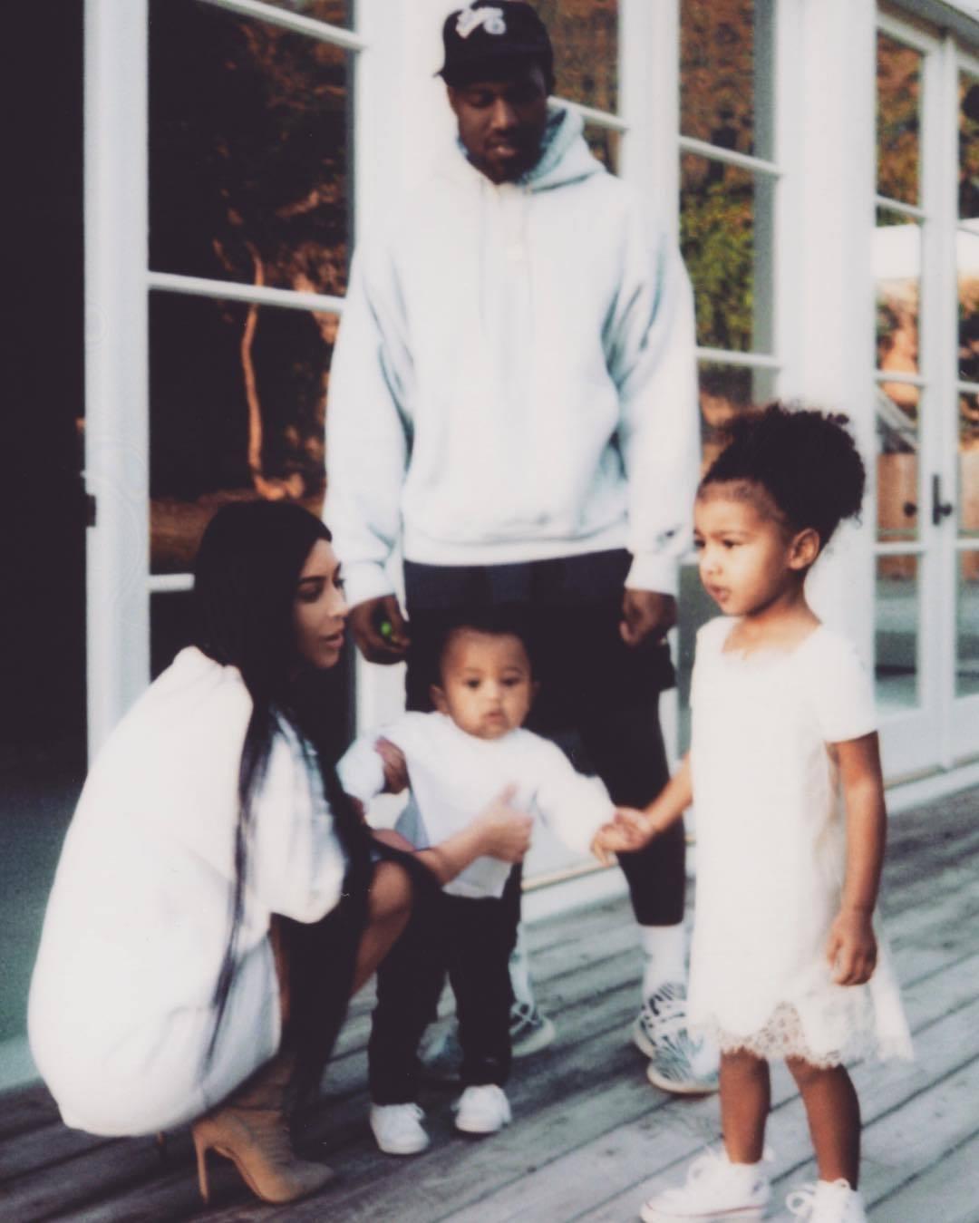 La publicación en Instagram de Kim Kardashian después de tres meses...