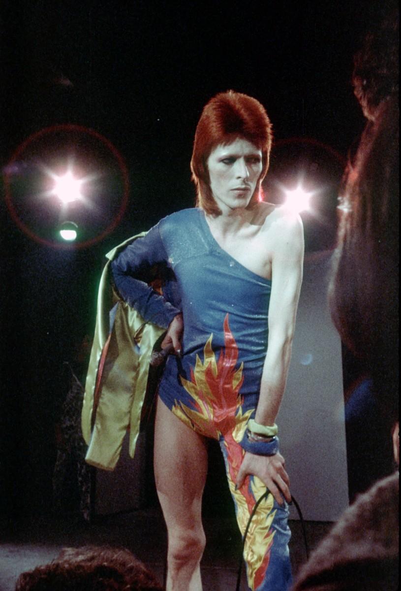 Ziggy Stardust fue uno de los alter egos más célebres de Bowie.