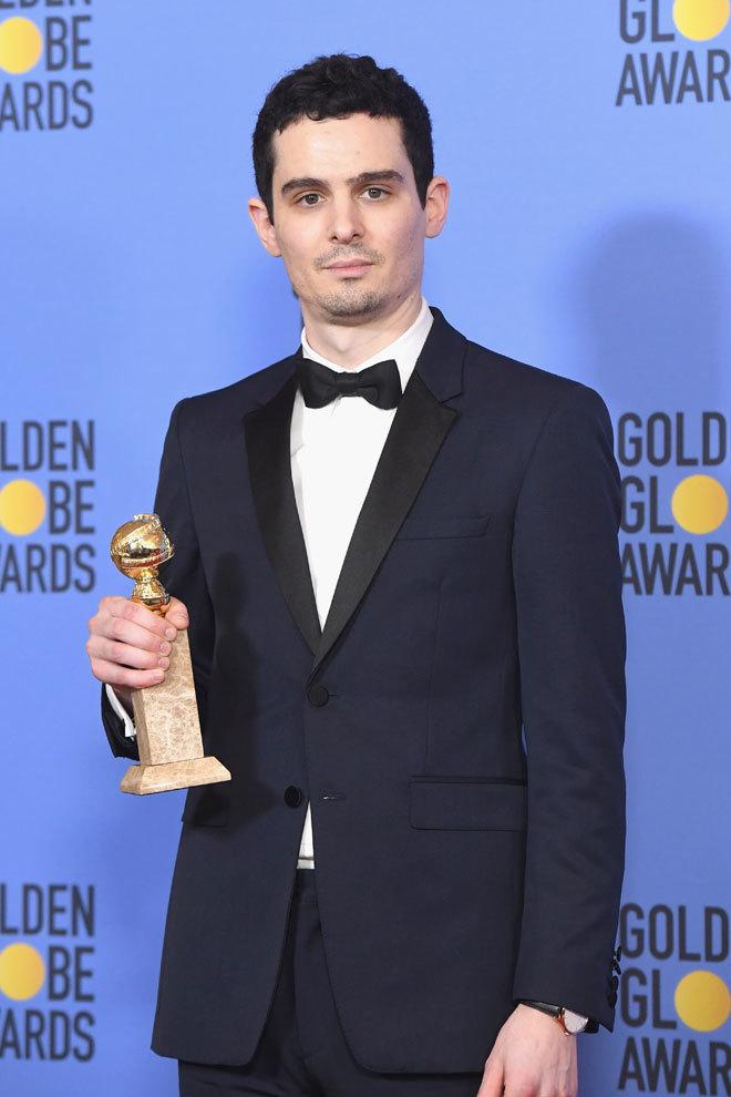 Damien Chazzelle, director de 'La La Land', fue el gran triunfador de...