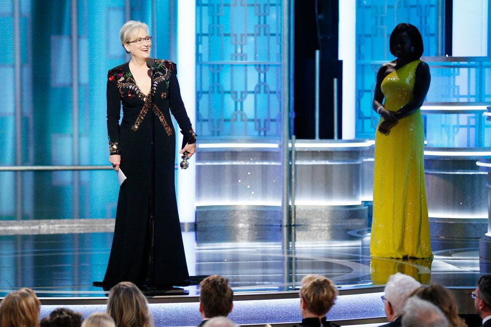 Meryl Streep recogió el premio Cecil B. DeMille por toda su...