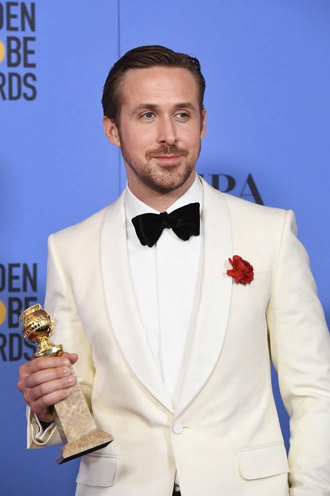 Ryan Gosling ha ganado el Globo de Oro a mejor actor de comedia.