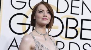 Emma Stone volvió a triunfar como una de las más guapas de la noche...