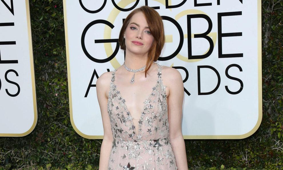 Emma Stone en la alfombra roja.