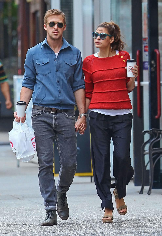 Ryan Gosling y Eva Mendes.