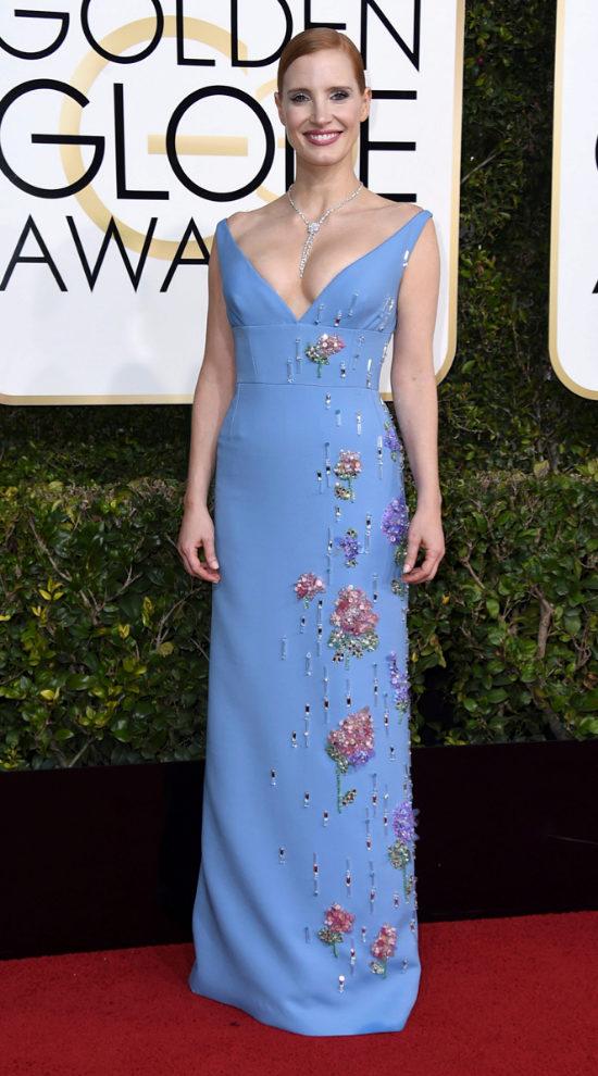 Jessica Chastain de Prada