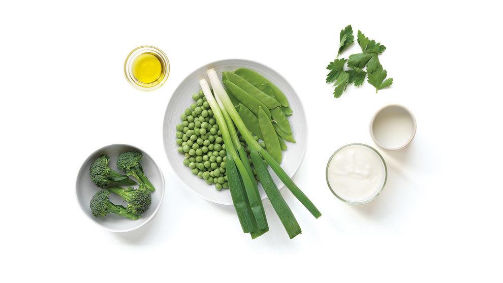 Yogur verde, del libro Sopas Detox (Lunwerg Editores).