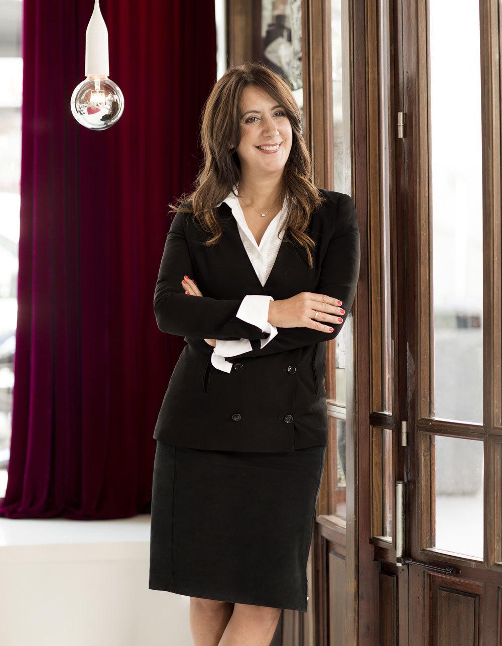 Dolores Redondo en el Hotel de las Letras de Madrid