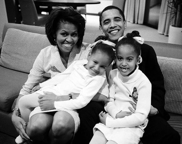 La bonita imágen que publicaba Michelle Obama para darle su última...