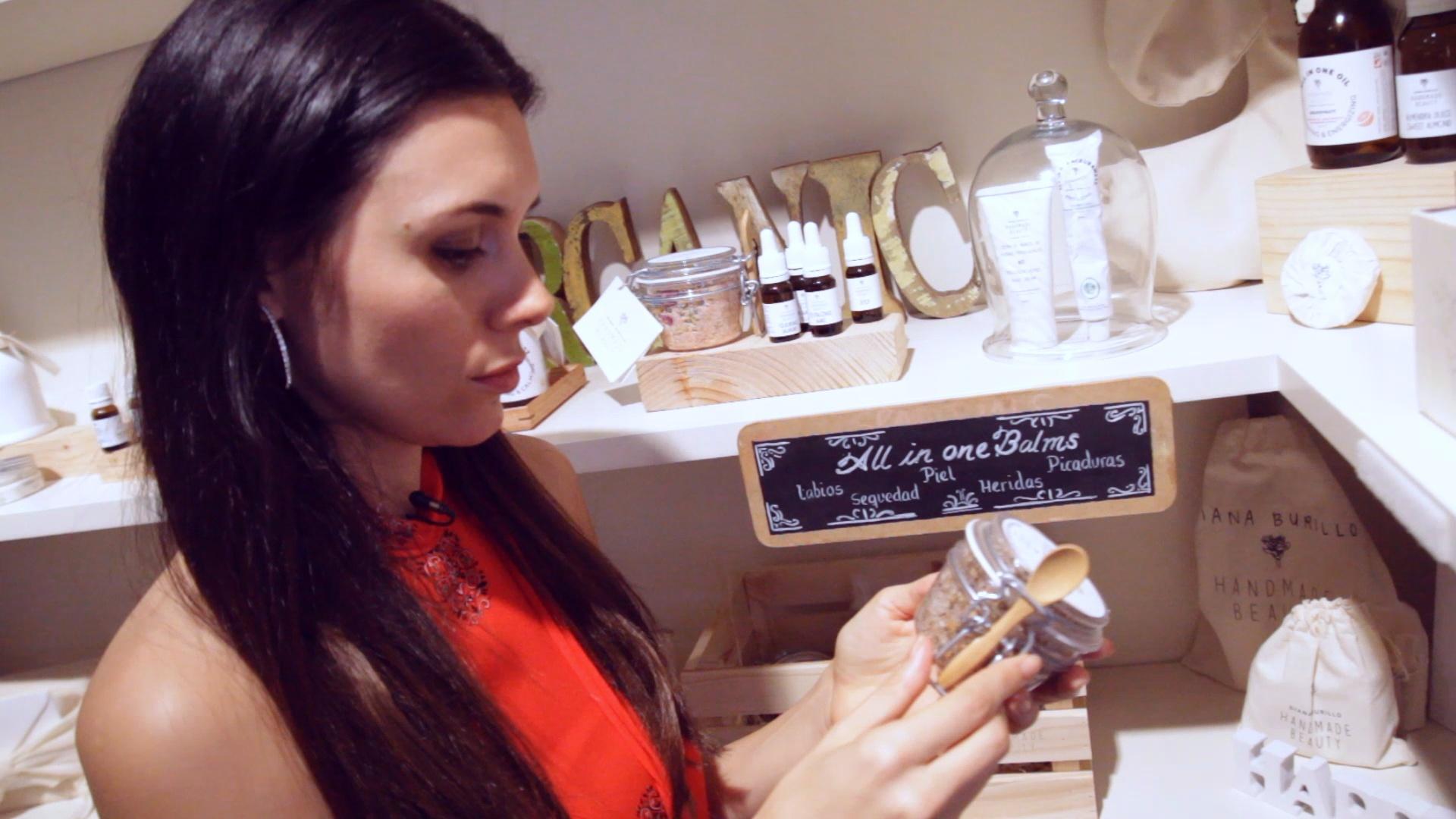 La experta en nutrición y belleza Beatriz Larrea en Handmade Beauty...