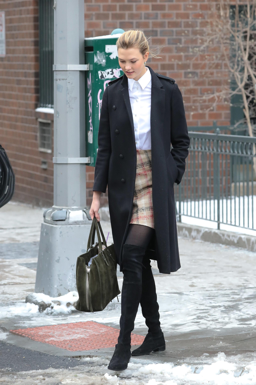 Karlie Kloss inspira el look del día