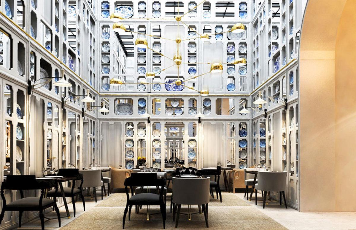 El restaurante Only You, diseñado por Lázaro Rosa-Violán.