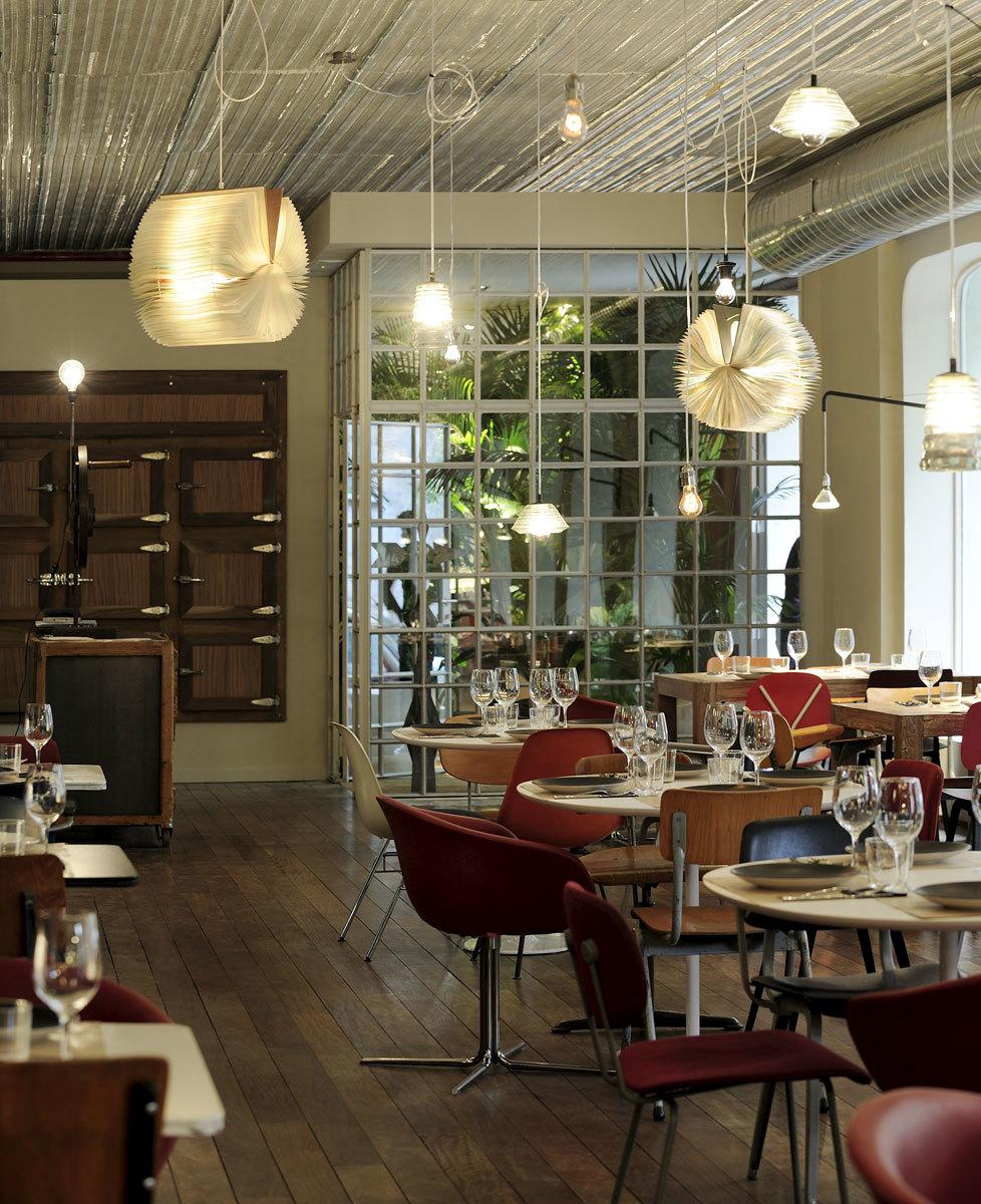 Qui n decora los restaurantes de moda for Donde estudiar diseno de interiores en espana
