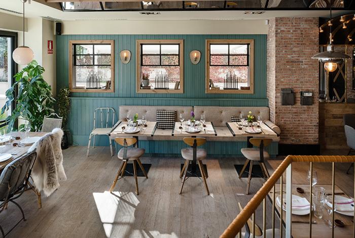 Restaurante Guito's, diseñado por Cousi Estudio.