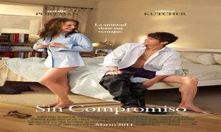 Cartel de la película <em>Sin Compromiso</em>, por la que...