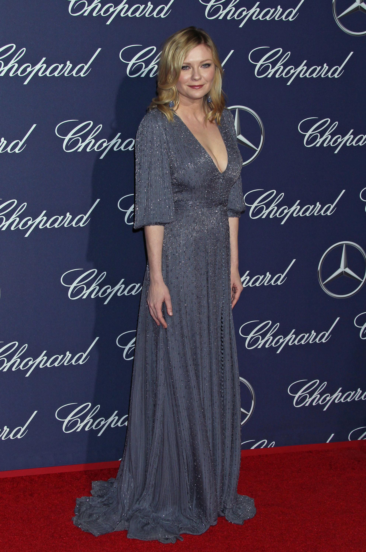 Kirsten Dunst en la alfombra roja del Festival de Cine de Palm...
