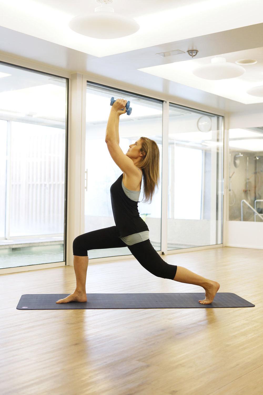 El Guerrero.Yoga dinámico