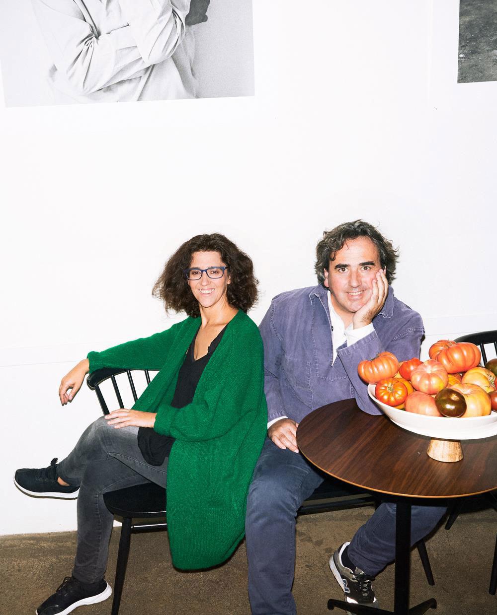 Lucía y Carlos Zamora.