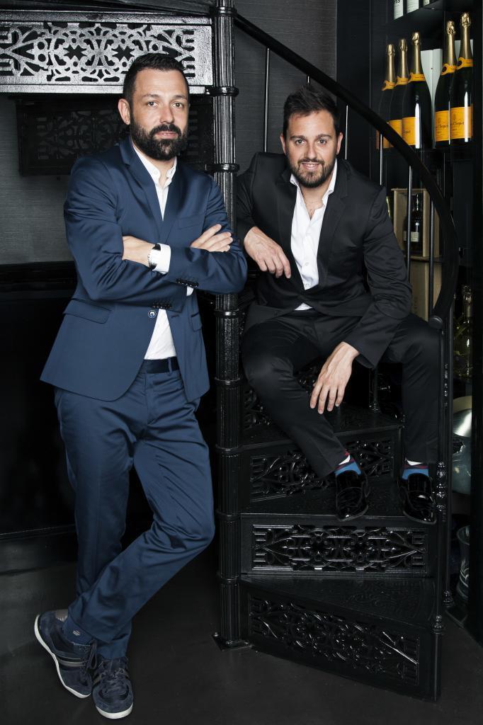 Iván Morales y Álvaro Castellanos.