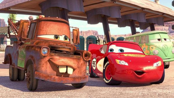 Cars 3 fotograma.