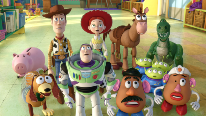 Toy Story 4 fotograma.