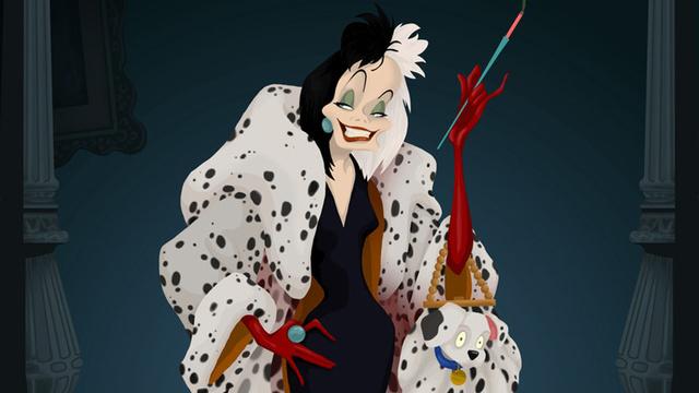 Cruella De Vill fotograma.