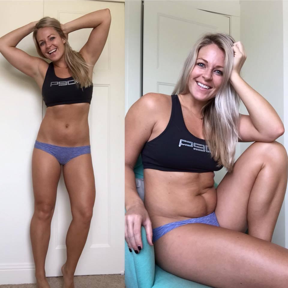 trucos para posar de las chicas fitness en Instagram