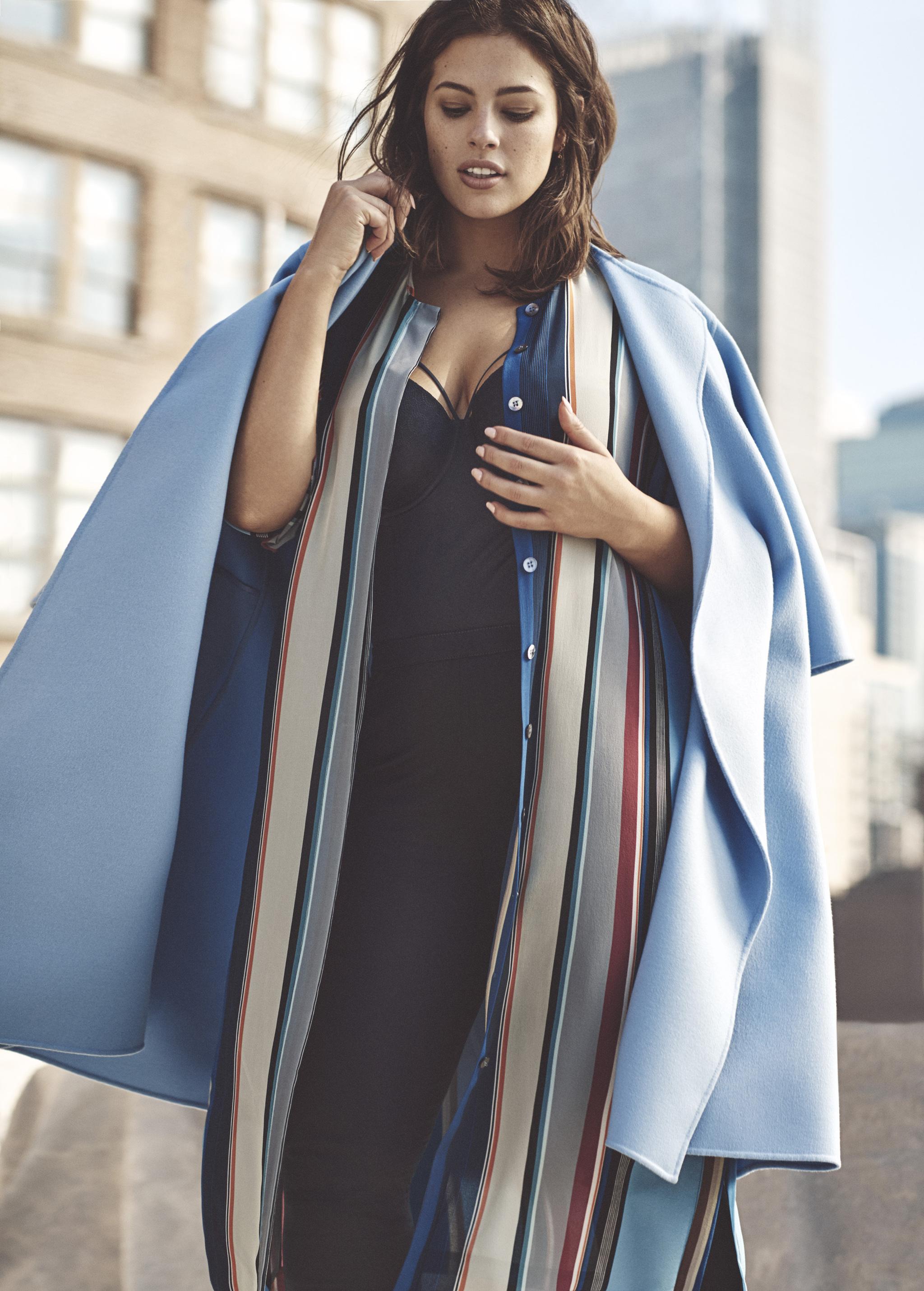 Ashley Graham, la modelo curvy que desafía a la industria de la moda.