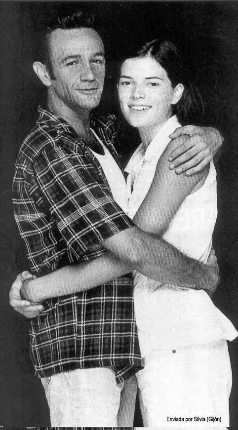 Bimba Bosé y Rafa Sánchez, cantante de La Unión