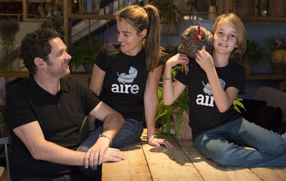 Erika Feldmann e Ignacio González-Haba Marcos, del grupo Los 4...