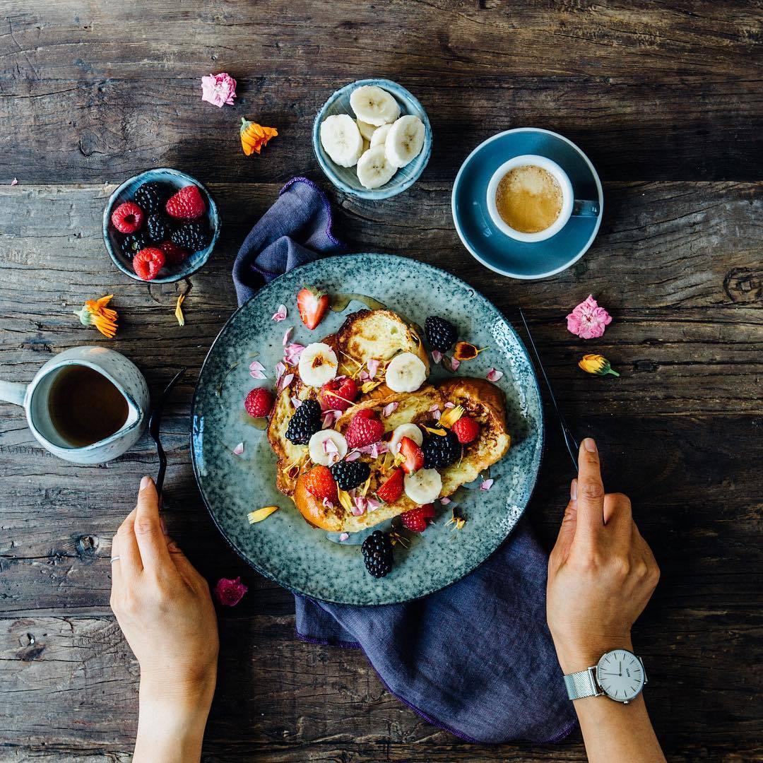 Un buen desayuno es la clave del día, así que empieza con fuerza...