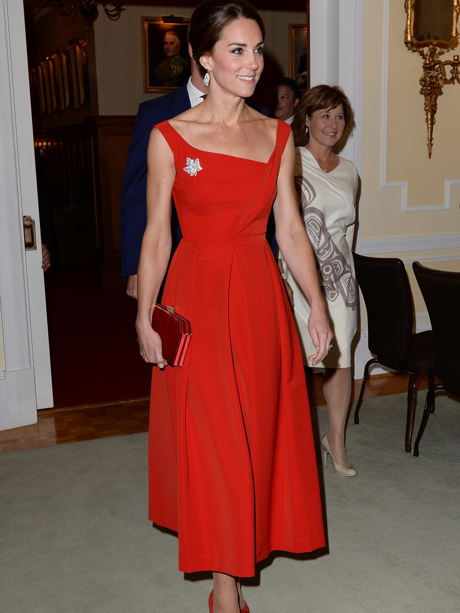 Kate Middleton ha esculpido su silueta con ejercicio y una dieta sana...