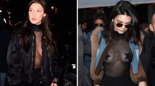Bella Hadid y Kendall Jenner, con <em>bodies</em>...