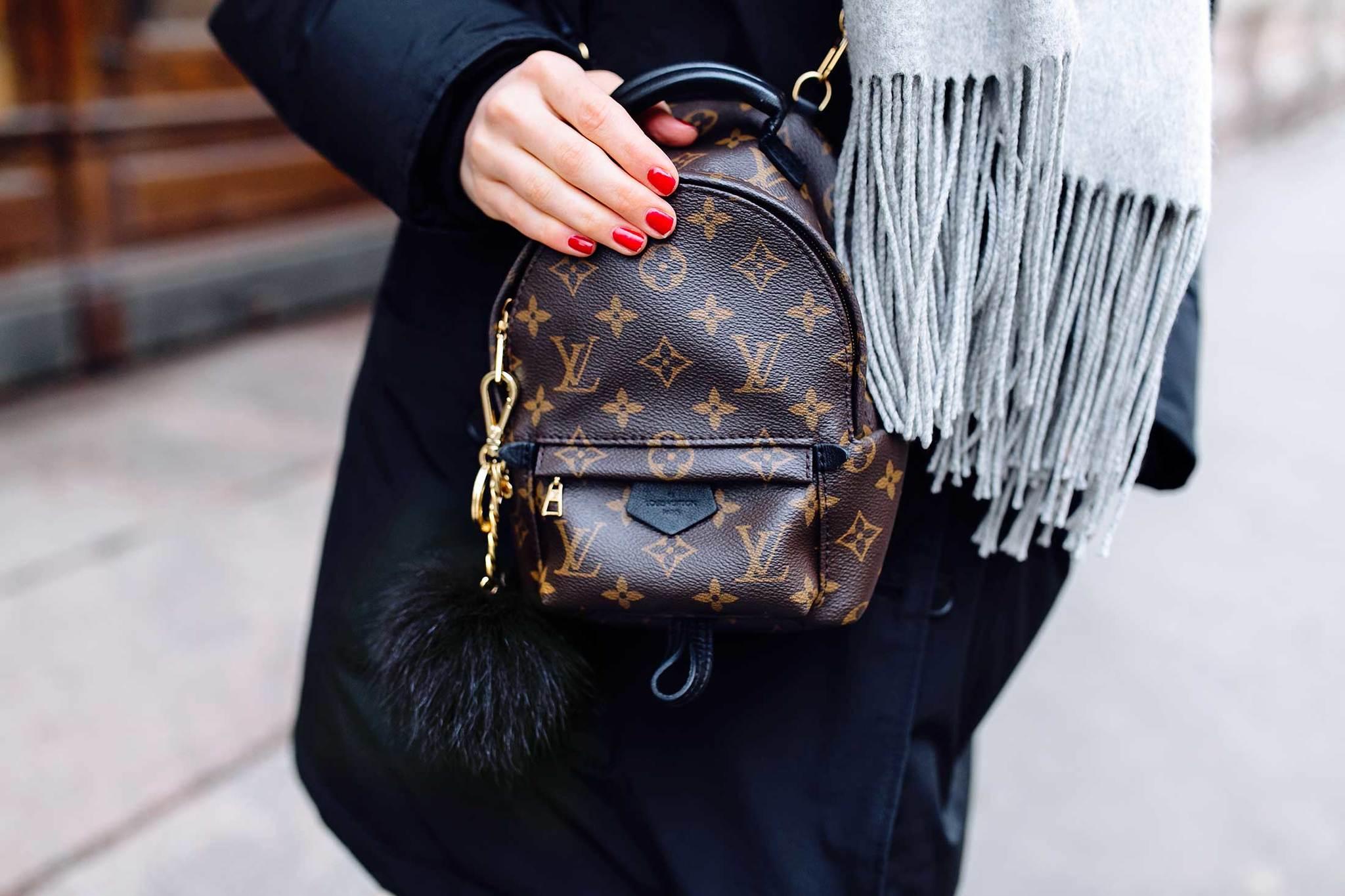 La mochila Palm Springs Mini de Louis Vuitton es el nuevo fenómeno en...