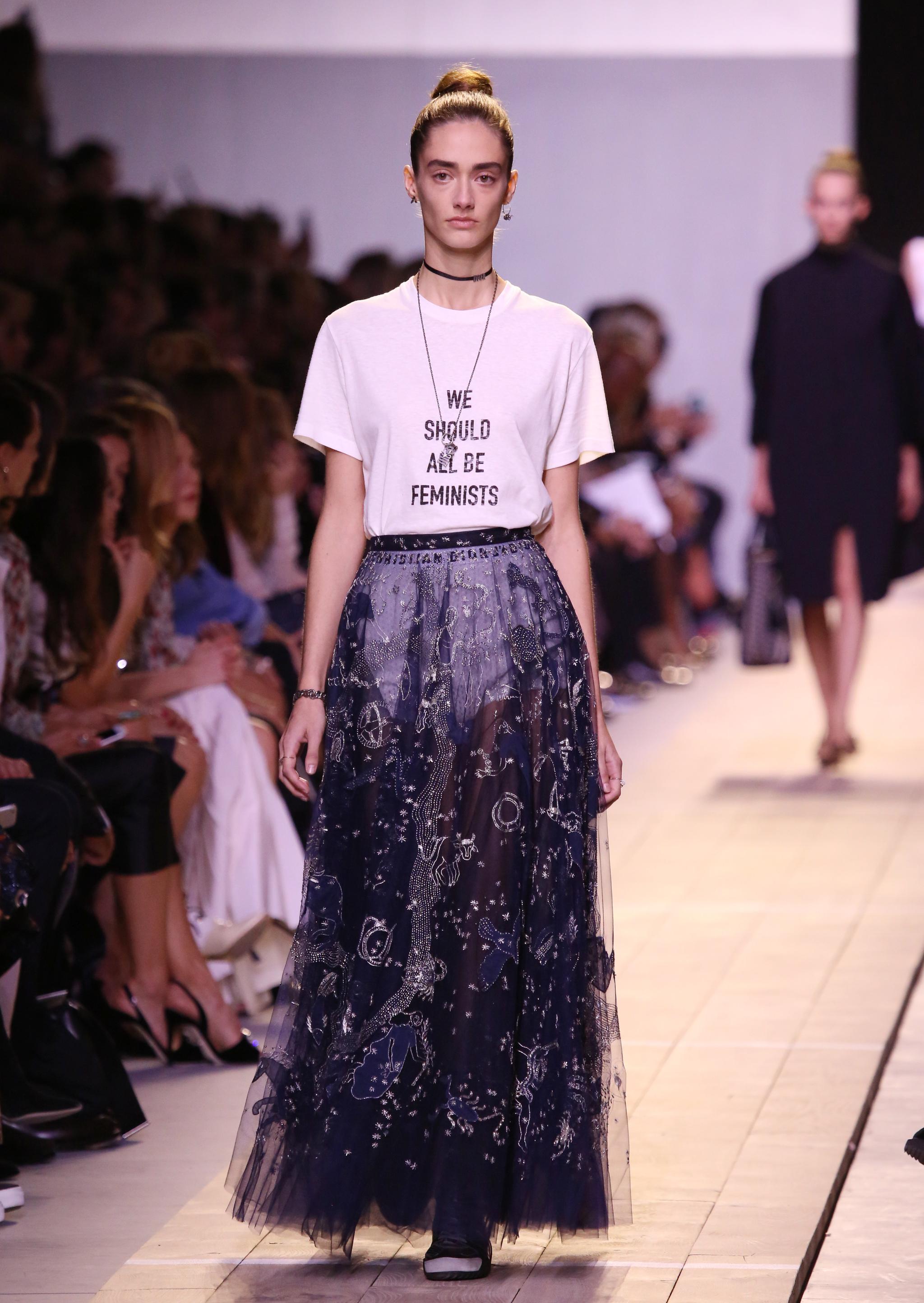 Look del desfile de Dior.