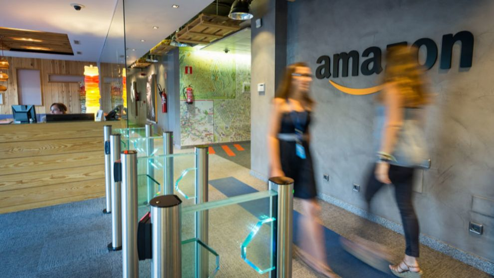 Oficinas de Amazon en Madrid.
