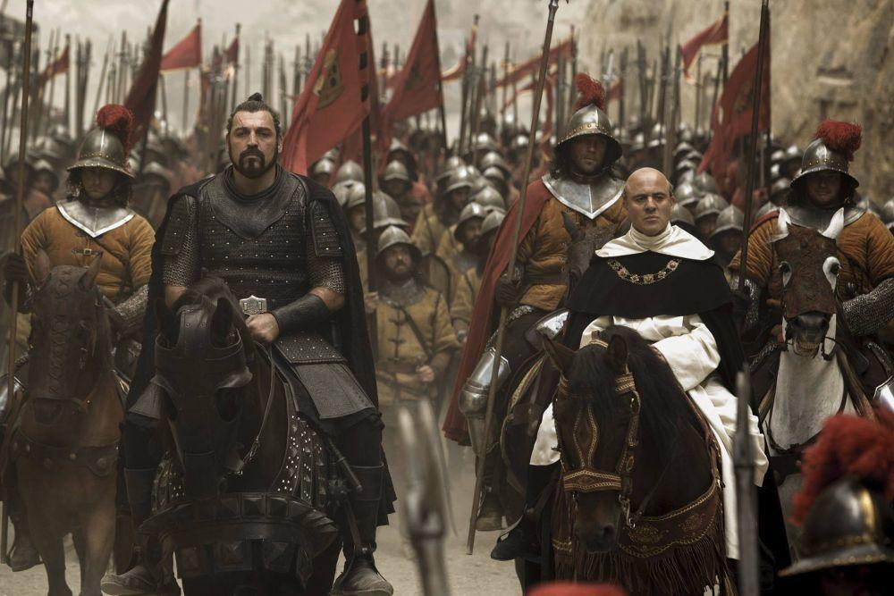 Javier Gutiérrez es Torquemada en 'Assasin's Creed'.