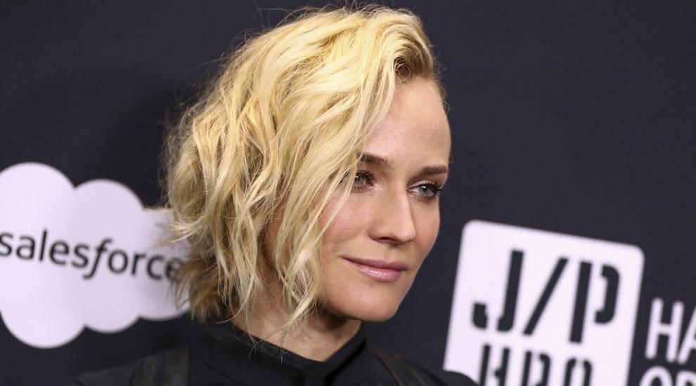 Diane Kruger es otra de las celebrities que ha sucumbido al corte swag...
